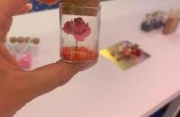 мастер класс цветок в колбе 1