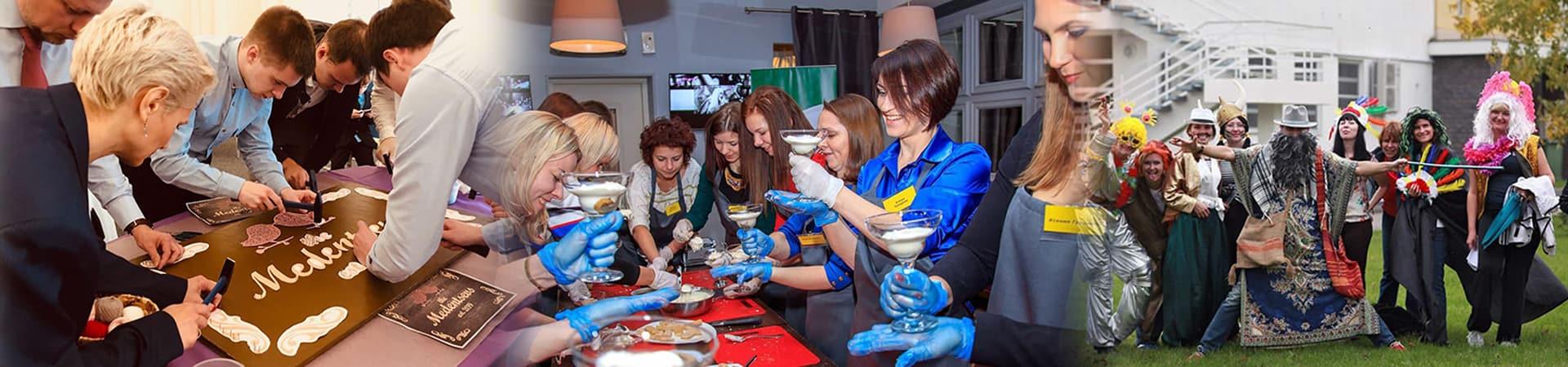 Творческий тимбилдинг в Москве