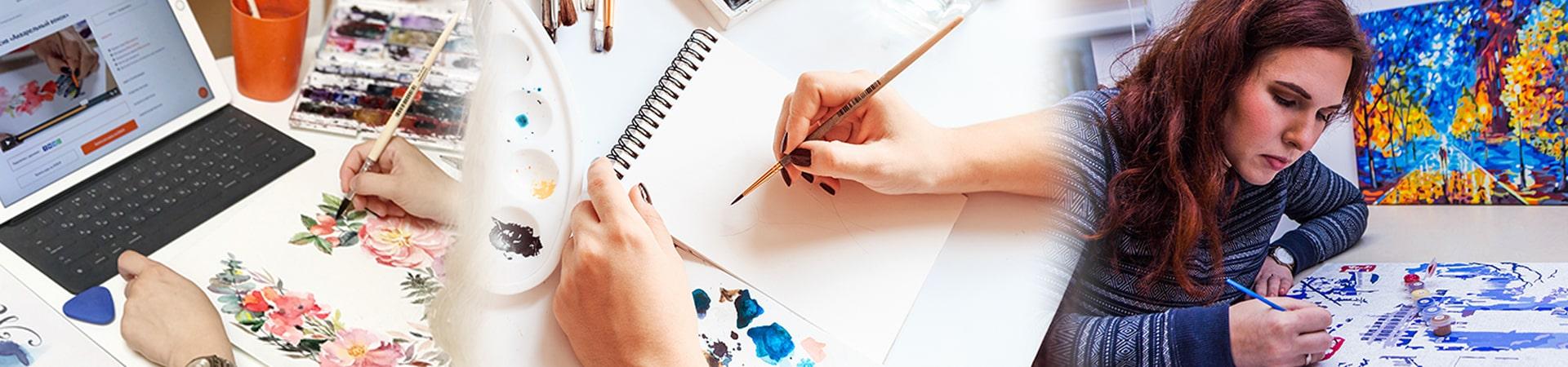 Онлайн мастер-класс рисование